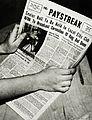 Paystreak newspaper, Lathrop High School.jpg