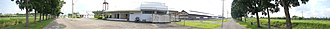 Philippine Carabao Center - Panorama of the breeding and milking station