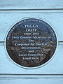 Peggy Duff 1910-1981 First General Secretary of the Campaign for Nuclear Disarmament and local councillor lived here.jpg