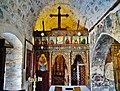 Pelendri Kirche Timios Stavros Innen Ikonostase 1.jpg