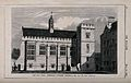 Pembroke College, Oxford; new hall. Wood engraving by C. D. Wellcome V0014150.jpg
