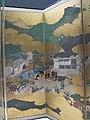 Periodo azuchi-momoyama, visita imperiale a ohara, paravento di hasegawa kyuzu, XVI sec, 03.JPG