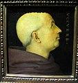 Perugino, ritratto di don biagio milanesi, 1500, da pala annunziata, uffizi 023.JPG