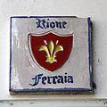 Pescia Rione Ferraia street name 01.JPG