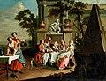 Peter Jacob Horemans - Elegant figures dining in a landscape.jpg
