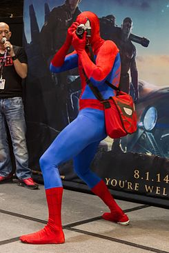Peter Parker is Spider-Man (13954872687).jpg