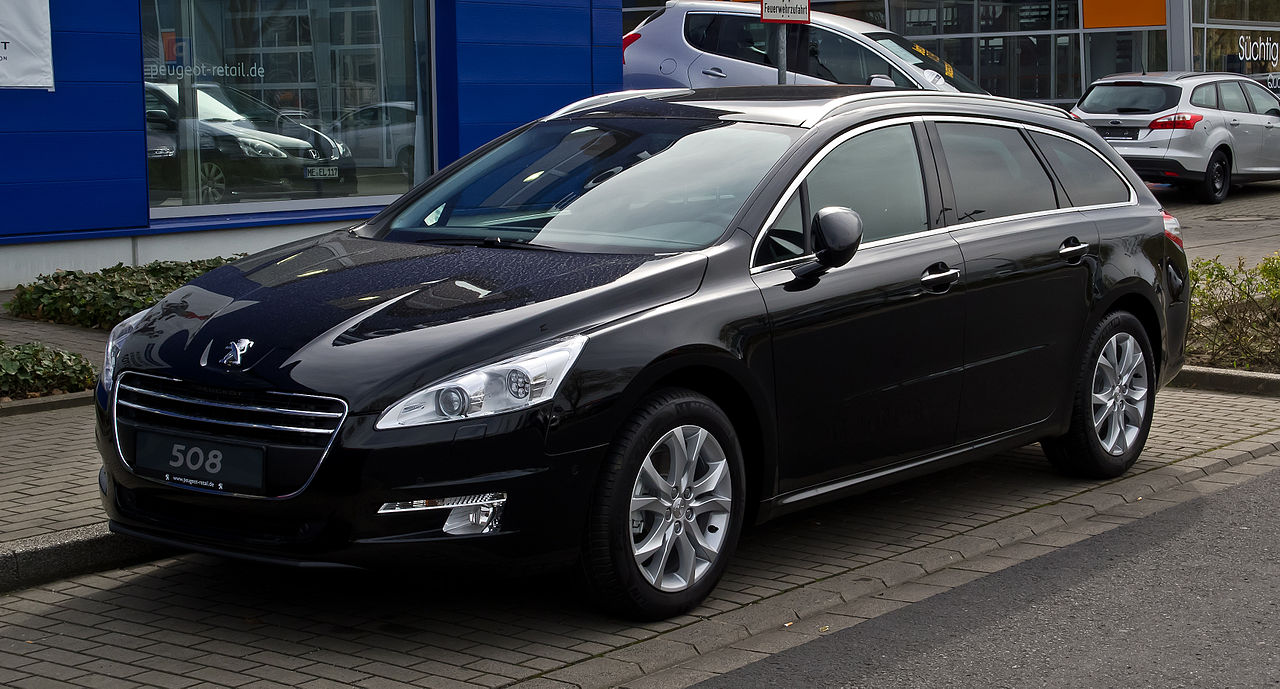 file peugeot 508 sw hdi fap 160 allure frontansicht 28 april 2012 d. Black Bedroom Furniture Sets. Home Design Ideas