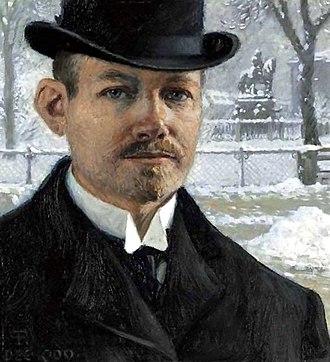 Paul Gustav Fischer - Self-portrait (1909)