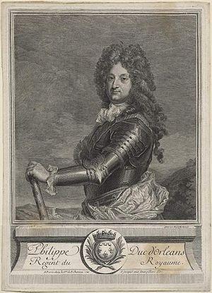 Marie-Anne Horthemels - Image: Philippe Duc d'Orléans by Marie Anne Horthemels after Jean Baptiste Santerre