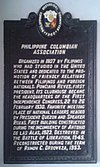 Philippine Columbian Association Marker.jpg