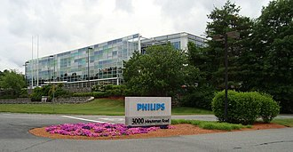 Philips - Philips' North American headquarters in Andover, Massachusetts
