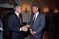 Photograph of President William J. Clinton Greeting Illinois Governor Jim Edgar - NARA - 2840358.jpg