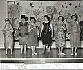 Photograph of models in the 'Centennial Fashion Show', held at Deseronto Public School, Ontario, on Saturday, 19th June, 1971. (5036602171).jpg