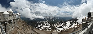Pic du Midi de Bigorre - The Pic du Midi Observatory at 2870 m in the Pyrenees in the south of France