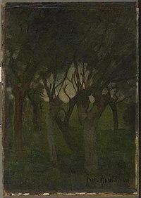 Piet Mondriaan - Willow grove with flattened images - 0334245 - Kunstmuseum Den Haag.jpg