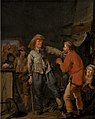 Pieter Codde - Soldiers Breaking into a Peasant's Cottage - KMSsp434 - Statens Museum for Kunst.jpg