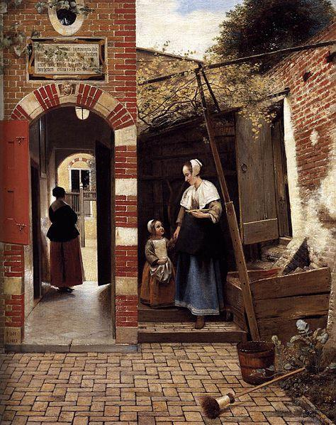 File:Pieter de Hooch - The Courtyard of a House in Delft - WGA11687.jpg