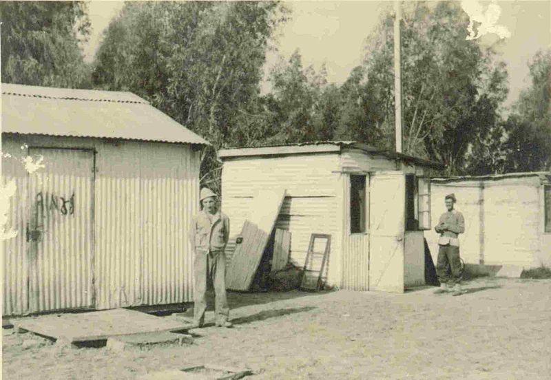 פחון מגורים בסעד של  שנות החמישים