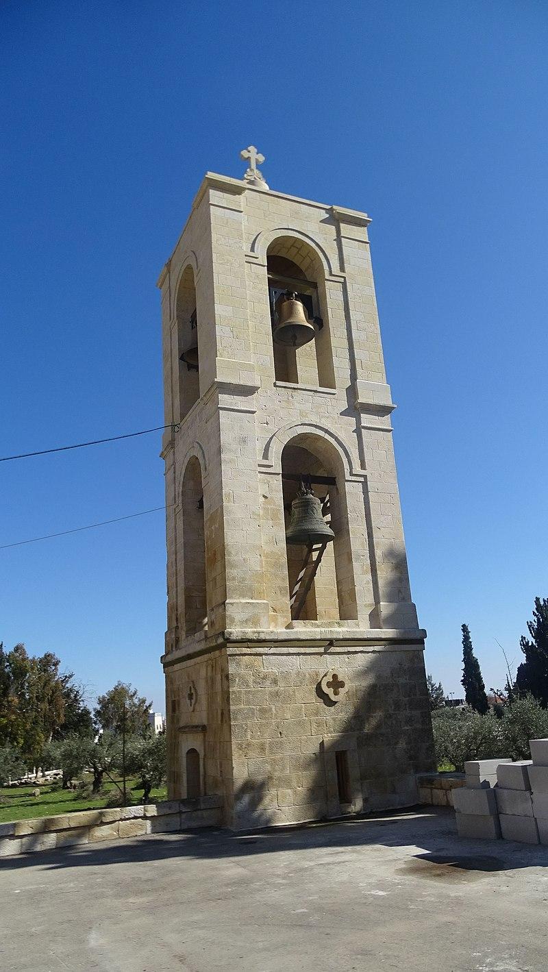 מגדל הפעמונים של כנסיית וירי גליליי-אנשי הגליל