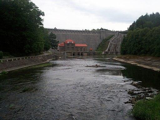 Pilchowice Zapora i Elektrownia Wodna1