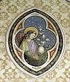 Pisa, santa caterina, angelo neogotico 01.jpg