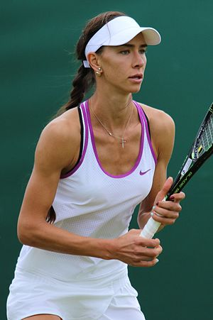 Anastasia Pivovarova - Pivovarova at the 2016 Wimbledon<br/>qualifying tournament