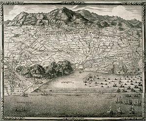 Siege of Barcelona (1697) - Image: Plànol del setge de Barcelona de 1697