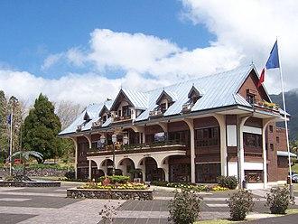 La Plaine-des-Palmistes - The town hall in Plaine-des-Palmistes
