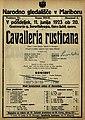 Plakat za predstavo Cavalleria Rusticana v Narodnem gledališču v Mariboru 11. junija 1923.jpg