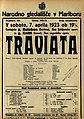 Plakat za predstavo Traviata v Narodnem gledališču v Mariboru 7. aprila 1923.jpg