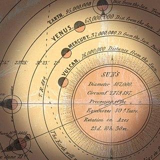 Vulcan (hypothetical planet) hypothetical Planet