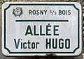 Plaque Allée Victor Hugo - Rosny-sous-Bois (FR93) - 2021-04-15 - 1.jpg