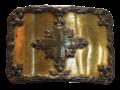 Plaque de ceinturon, 1re compagnie, vers 1770.png