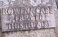 Plaque to Rowena Cade - geograph.org.uk - 297855.jpg