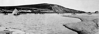 Playa del Rey, Los Angeles - Playa del Rey: Ballona Wetlands and Creek, 1902