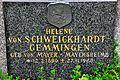 Poertschach Ortsfriedhof Grab Helene von Schweickhardt-Gemmingen 15072011 282.jpg