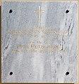 Poertschach Pfarrkirche hl Johannes d T Grabstein fuer zwei Seelsorger 20082015 6803.jpg