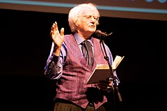 Robert Bly vid Poetry Out Loud i Minnesota, 2009
