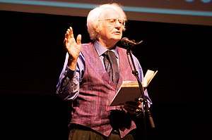 "Robert Bly - Bly at the ""Poetry Out Loud"" finals, Minnesota 2009"