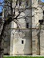 Poissy (78), collégiale Notre-Dame, clocher occidental, parties basses, côté ouest.jpg