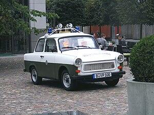 Volkspolizei - Image: Police Trabant