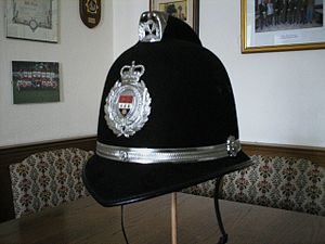 West Mercia Police - Helm of the West Mercia Police