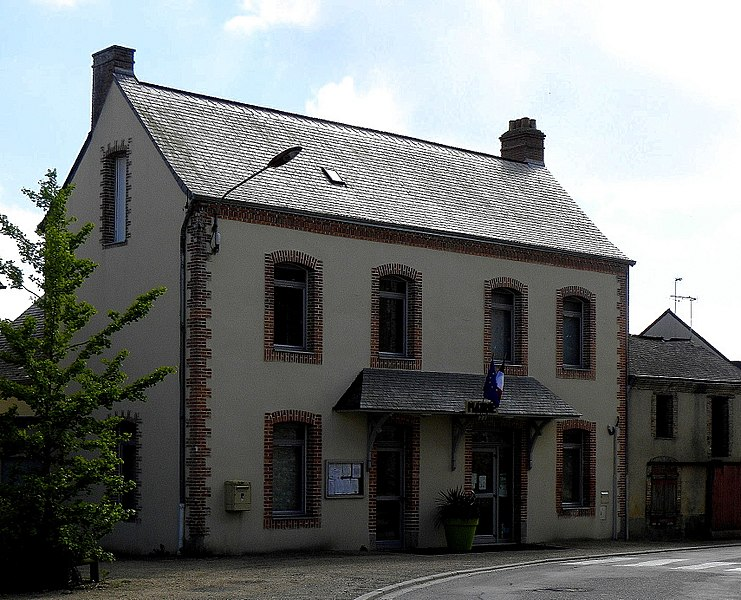 Mairie de Pommerieux (53).