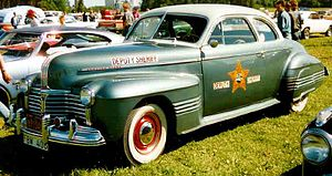 Pontiac Torpedo - 1941 Pontiac Streamliner Torpedo Eight Sedan Coupe (B-body)