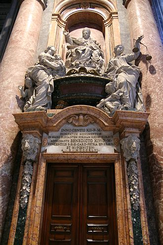 Pope Innocent XII - Monument to Innocent XII, St. Peter's Basilica