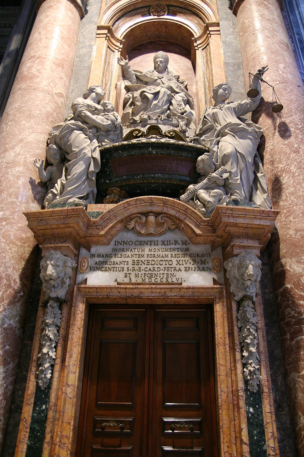 Pope Innocent XII Tomb