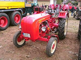 Porsche-Diesel 218 tractor model