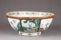 Porslinsskål gjord i Kina cirka - Hallwylska museet - 96134.tif
