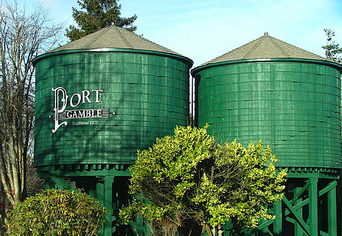 Port Gamble mailbbox