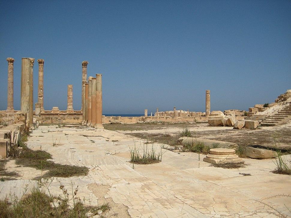 Portic Antonine Temple Sabratha
